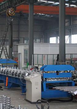 We manufacture roll forming machine for rack, purlin, roof, drywall, cable tray