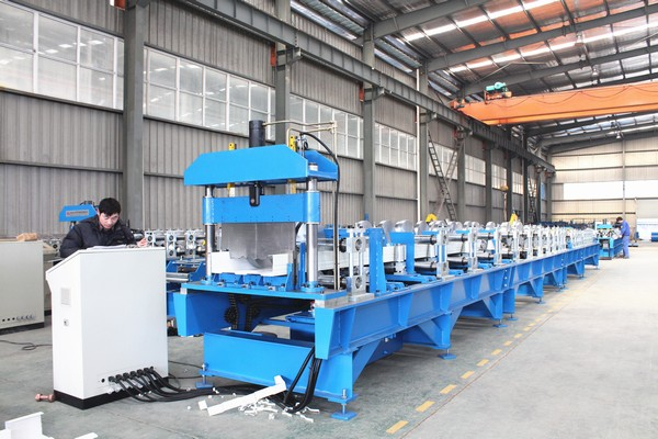Self-locked Joint-hidden Metal Roof Forming Machine