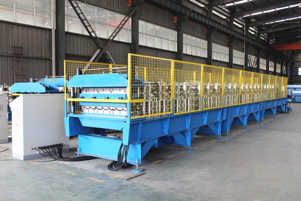 Double Layer Metal Profile Roll Forming Machine